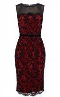 Роскошное кружевное платье Karen Millen