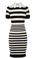 Трикотажное платье в полоску Gather Beauty