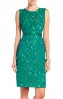 Платье зеленое BCBG by Max Azria